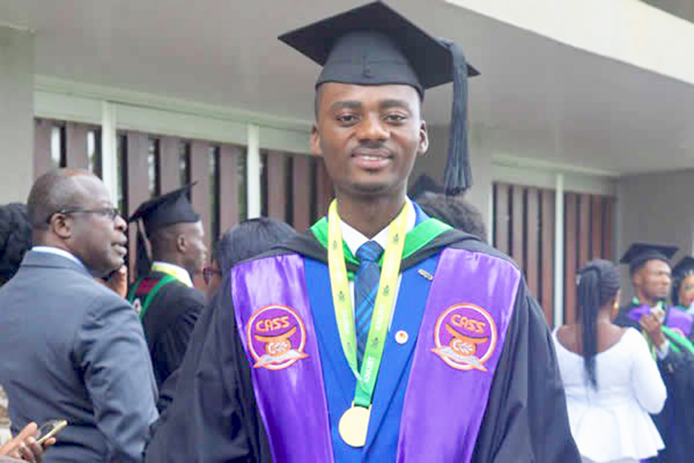 Valedictory Speech by Joel Ansah