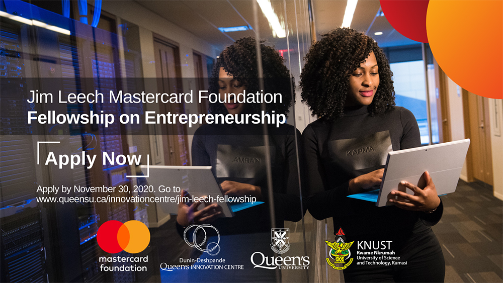 Jim Leech Mastercard Foundation Fellowship